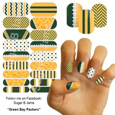 Green Bay Packers. I like the laces design