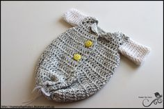Mamma That Makes: Dustins Sleeper Gown - Free Crochet Pattern