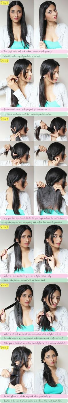 Boho braided. LOOSEN UP THE FISHTAIL MORE AND DO WAVES IN HAIR BEFORE AND OMG BOHO!