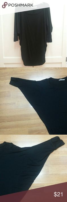 STITCH FIX 41 Hawthorne Black Dolman Top -  M * Versatile black dolman, soft & light material, not thick or bulky. * Worn only a handful of times. In excellent condition. * Flattering fit with slightly more fit around bottom of top. * Shoulder to Hem measures 30 in. - but is worn higher the way top fits. 41 Hawthorne Tops