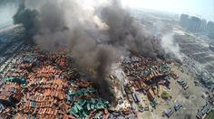 天津の大爆発、中国の安全基準に再び疑問符 国際ニュース:AFPBB News