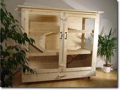 Kaninchenstall aus Holz selbst gebaut: Anleitung Perrine 160 von xoppla.net – Baubericht von Vanessa | XOPPLA