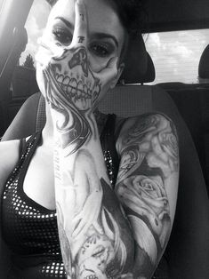 Tattoos e caveiras | Old Dog Cycles
