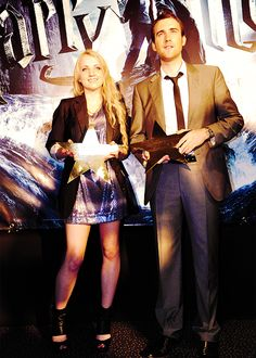 Evanna Lynch and Matt Lewis