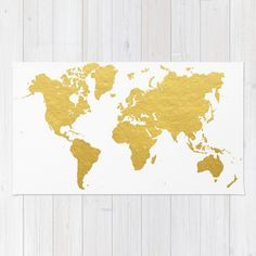 Buy area throw rugs with design featuring the world map by mike using 100 woven polyester these premium quality area rugs world map wall gumiabroncs Gallery
