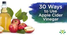 30 Ways to Use Apple Cider Vinegar 30 quick and easy ways to use apple cider vinegar and incorporate all of the health benefits of apple cider vinegar into your diet. You'll be surprised by some of them. Cider Vinegar Benefits, Apple Cider Vinegar Uses, Apple Cider Vinegar Remedies, Apple Cider Benefits, Elderberry Benefits, Freezing Lemons, Apple Health Benefits, Honey Benefits, Calendula Benefits