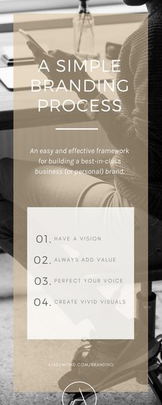 a simple branding framework | free e-course and resources @ ajaedmond.com/branding | brand strategy template | brand yourself | brand your business | personal branding | small business branding | small business owners | creative entrepreneurs | brand strategy framework | how to brand yourself | how to brand your business