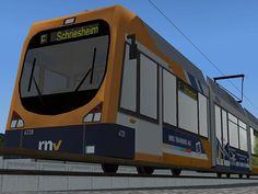 Strassenbahn RNV 4138
