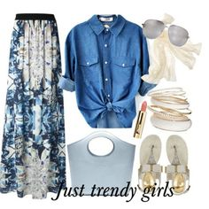 Mix and match your maxi skirt | Just Trendy Girls