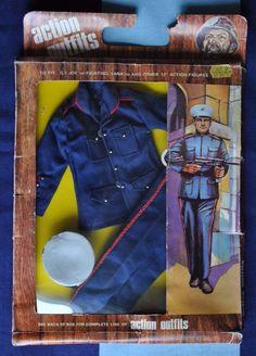 vintage action man gi joe fighting yank dress marine uniform carded | eBay