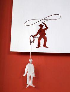 sculpture papier23