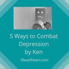 Guest Post: 5 Ways to Combat Depression by Ken   Bipolar Bandit (Michelle Clark)