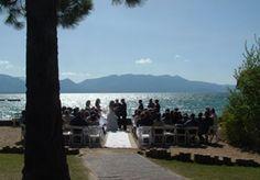 The Ridge Tahoe Resort ceremony + reception + room accommodation