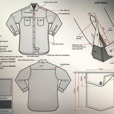Shirt Techpack: