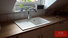 Villeroy und Boch Keramikspüle Subway 45 Beckenseite rechts. Die elegante und kompakte Spüle für Ihre Küche. Verkauf und persönliche Beratung über EUE Hamburg.
