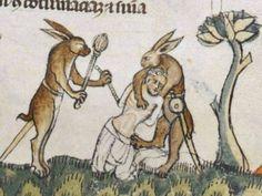7 imagini ciudate care apar obsesiv în arta medievală