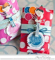 Birthday Boy Treat Bag by Betsy Veldman for Papertrey Ink (December 2015)