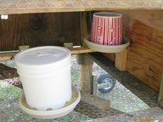 DIY feeder  waterer
