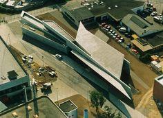 El Plan Z Arquitectura: Zaha Hadid. Estación de Bomberos de Vitra