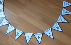 It's a Boy Banner Nautical Baby Shower by ReginesPartyBoutique