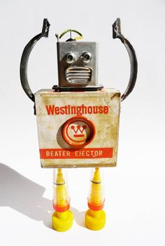 Pitarque Robots art toy-10