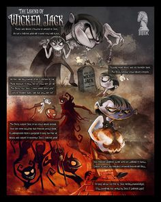 """THE LEGEND OF """"STINGY (Wicked) JACK"""""""