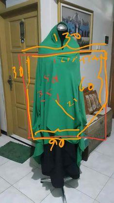 Abaya Pattern, Islamic Clothing, Mode Hijab, Hijabs, Capes, Hijab Fashion, Shawl, Sewing Projects, Sewing Patterns