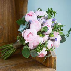 Peony Pink Bridal Bouquet