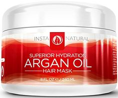 InstaNatural Argan Oil Hair Mask – Deep Conditioner Treatment for Dry,  GET IT FOR FREE!