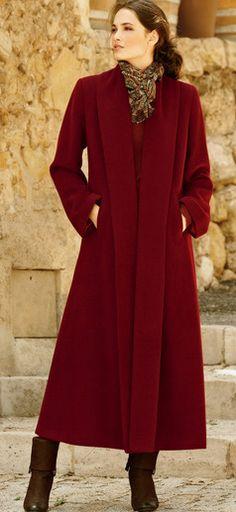 Bordeaux Coat | fall-winter Look.
