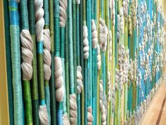 Sheila Hicks - The Silk Rainforest Textile Fiber Art, Home Textile, Textile Design, Weaving Tools, Weaving Projects, Sheila Hicks, Textile Sculpture, Creative Textiles, Weaving Textiles