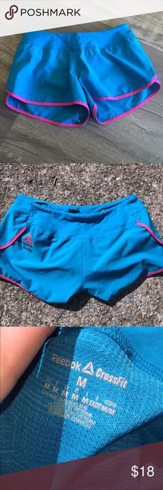 Reebok cross fit shorts Like new! Built in panty liner! Sold out elsewhere! Reebok Shorts