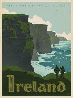 The Cliffs of Moher, County Cork, Southern Ireland