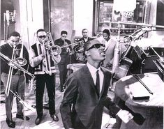 "Motown Flashback: Stevie Wonder in session with the Funk Brothers down in the ""Snake pit"" in 1967"