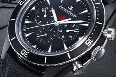 JAEGER-LECOULTRE deep sea chronograph Cermet & deep sea vintage chronograph Cermet (SIHH - Salon de Genève 2013)