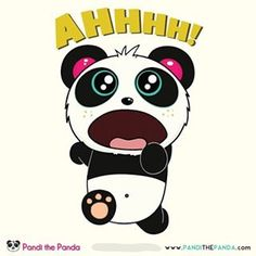 What are you running from little Pandi?
