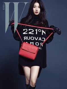 Suzy ★ Miss A for W Korea December 2013