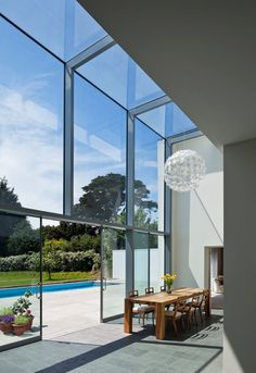 Jamie Falla #Architecture designed the redevelopment of Le Foin Bas, a 4 bedroom family #home located on the island of Jersey (part of the Channel Islands).