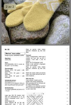 Free Knitting, Knitting Patterns, Knit Mittens, Drops Design, Tatting, Christmas Diy, Knit Crochet, Diy And Crafts, Stitch