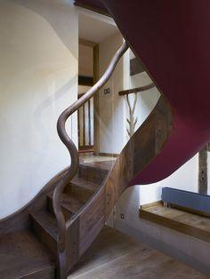 erstaunliches treppen design – 14 wahre raumwunder, Innedesign