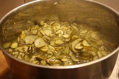 Inlagd gurka Crepes, Love Food, Pork, Chicken, Kale Stir Fry, Cubs, Pork Chops