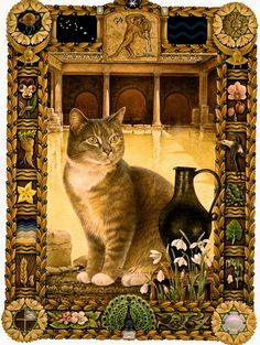 Кошачий гороскоп от Lesley Anne Ivory - Aquarius cat