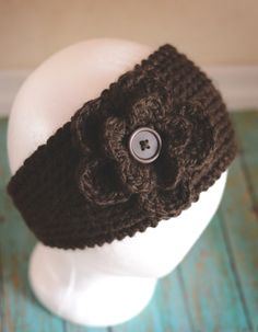 Crochet Ear Warmer.
