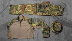 Die Striker XT Kampfbekleidung in Flecktarn | UF PRO®