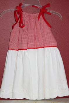 Doris' shower curtain pillow case dress