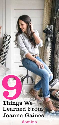 See favorite tricks from the Fixer Upper star, Joanna Gaines (design #girlboss we aspire to be).