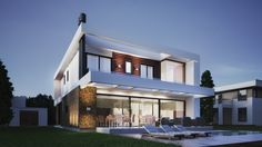 Residencial  Malibu H-12  #arquiteturamoderna #concrete #house #homedesign #contenporary #modern #minimal #warmdesign #architecture #arquitetura #brazilianarchitecture #portoalegre