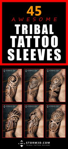 Looking for high quality Polynesian tribal tattoo designs?