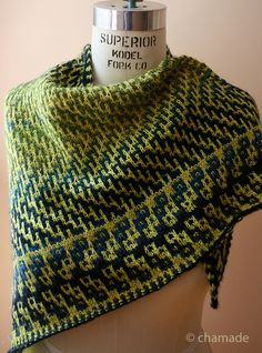 Dovetail Shawl by Judy Marples