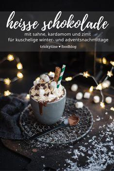 Chocolate Fondue, Hot Chocolate, Kakao, Marshmallows, Iced Coffee, Easy Peasy, Yummy Drinks, Tea Time, Smoothies